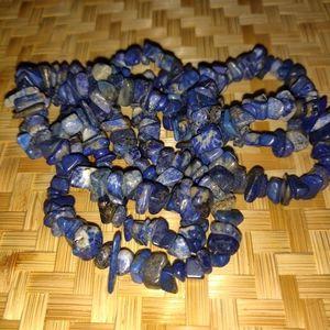 Genuine Sodalite Stone Versitile Necklace